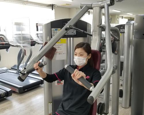 トレーニング中のマスク着用