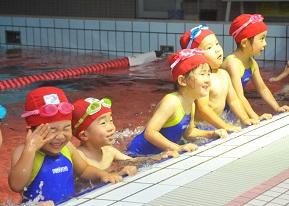 短期水泳教室チラシ